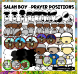 Prayer / Salah (Boy) Clipart