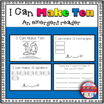 I Can Make Ten - A Common Core Emergent Reader