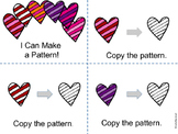 I Can Make a Pattern - A Valentine Book