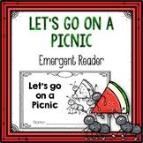 Let's go on a Picnic Emergent Reader
