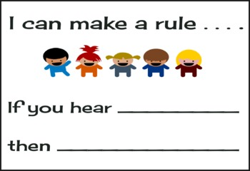 I Can Make a Rule Poster for Word Study