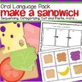 Sequencing and Categorizing Activities - Make a Sandwich
