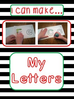 """Letters: """"I Can Make...My Letters""""; Multi-sensory Instruction"""
