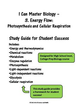 I Can Master Biology - Photosynthesis and Respiration - High School Science