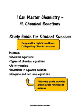 I Can Master Chemistry - Chemical Reactions - High School Science
