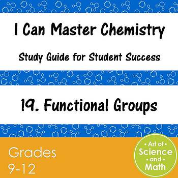 I Can Master Chemistry - Functional Groups - High School Science