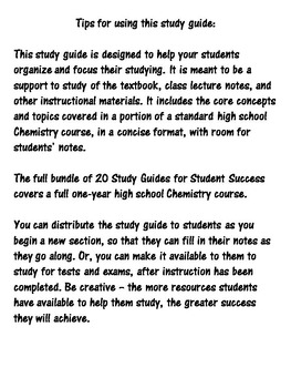 I Can Master Chemistry - The Mole - High School Science
