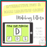 I Can Match Letters: 3 Interactive PDFs for Special Education Classrooms