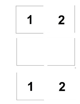 I Can Match Numbers (Black & White)