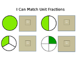I Can Match and Compare Unit Fractions (adapted)