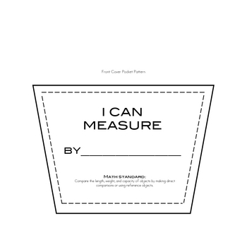 I Can Measure Book for Students to Make