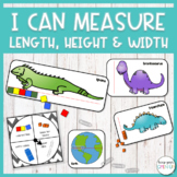 I Can Measure Height, Length, and Width