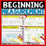 Introduction to Measurement in inches and centimeters