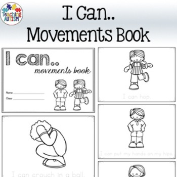 I Can.. Movement Breaks, Read & Write Book