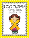 I Can Multiply! Brag Tags