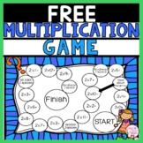 Multiplication Game FREEBIE