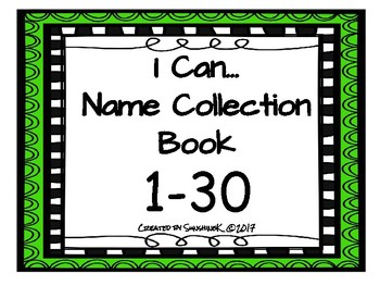 Name Collection Box - I CAN...1-30