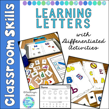 Letter Recognition Activities for Beginners I Can Name Letters