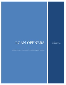 I Can Openers - Ice Breakers by Lisco