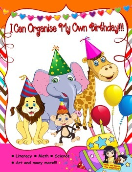 I Can Organise My Own Birthday!