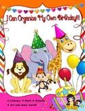 I Can Organise My Own Birthday!