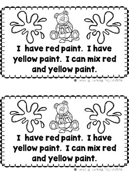 I Can Paint Rainbows  (A Sight Word Emergent Reader)