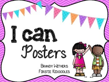 I Can Posters