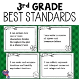 """I Can"" Posters 3rd Grade LAFS MAFS NGSSS Core Classes Florida Standards"
