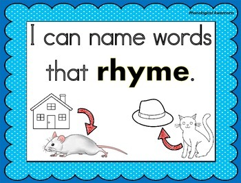 """""""I Can"""" Posters- Commom Core Standards Aligned (Color and B/W versions))"""