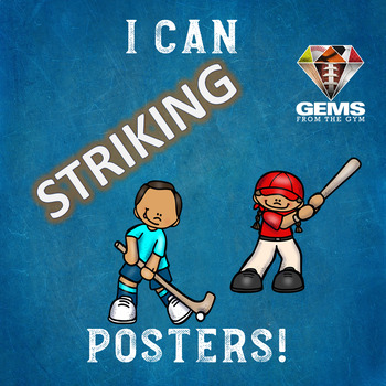 I Can Posters - Striking!