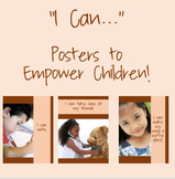 """I Can!""  Growth Mindset Posters"