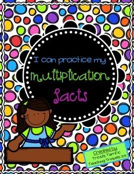 Multiplication Facts FREEBIE