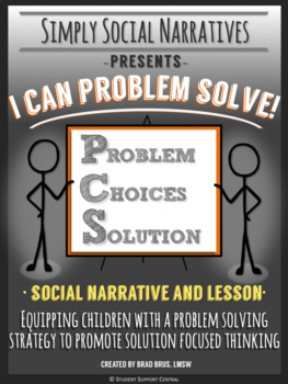 I Can Problem Solve! Social Narrative and Lesson, Social Story