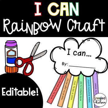 I Can Rainbows {Editable!}