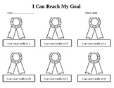 I Can Reach My Goals Award Ribbons