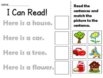 I Can Read!