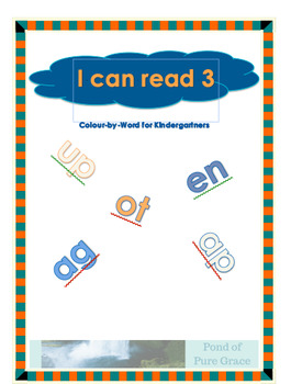 I Can Read 3: Colour-By-Word for Kindergartners