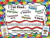 I Can Read... 7 Emergent Phonic Books