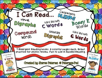 I Can Read... 7 Emergent Phonic Books
