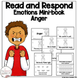 I Can Read About Anger Early Learner Emotions Take Home Book Sight Word Reader