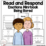 I Can Read About Being Bored Early Reader Take Home Book Sight Word Reader