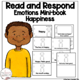 I Can Read About Being Happy Early Reader Take Home Book Sight Word Reader