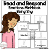I Can Read About Being Shy Early Reader Take Home Book Sight Word Reader
