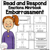 I Can Read About Embarrassment Early Reader Take Home Book Sight Word Reader