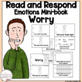 I Can Read About Worrying Early Learner Emotion Take Home Book Sight Word Center