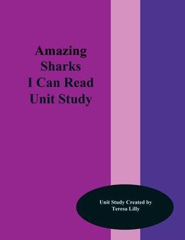 Amazing Sharks I Can Read Unit Study