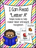 Little Letter Books- Letter A- Letter of the Week Book