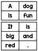 Build a Sentence: Pre-Primer Sight Words Edition