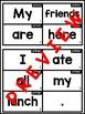 Build a Sentence: Primer Sight Words Edition