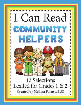 Community Helpers Grades 1 & 2 Literacy Centers